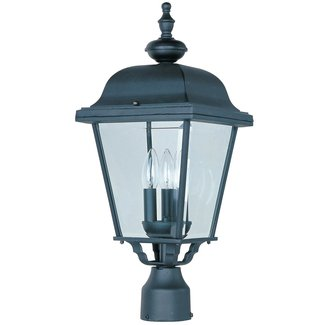 Maxim Builder Cast Outdoor Post Lantern -24H in.