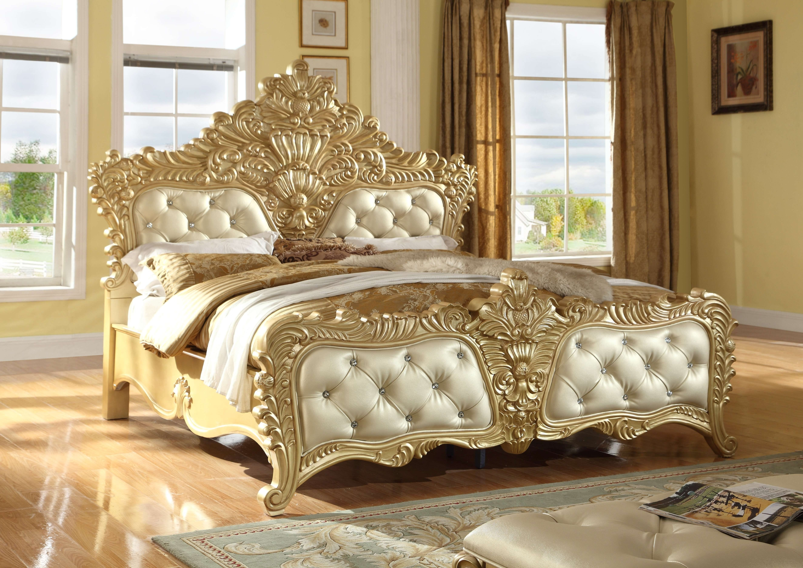 Gold Bed Frame You Ll Love In 2021 Visualhunt
