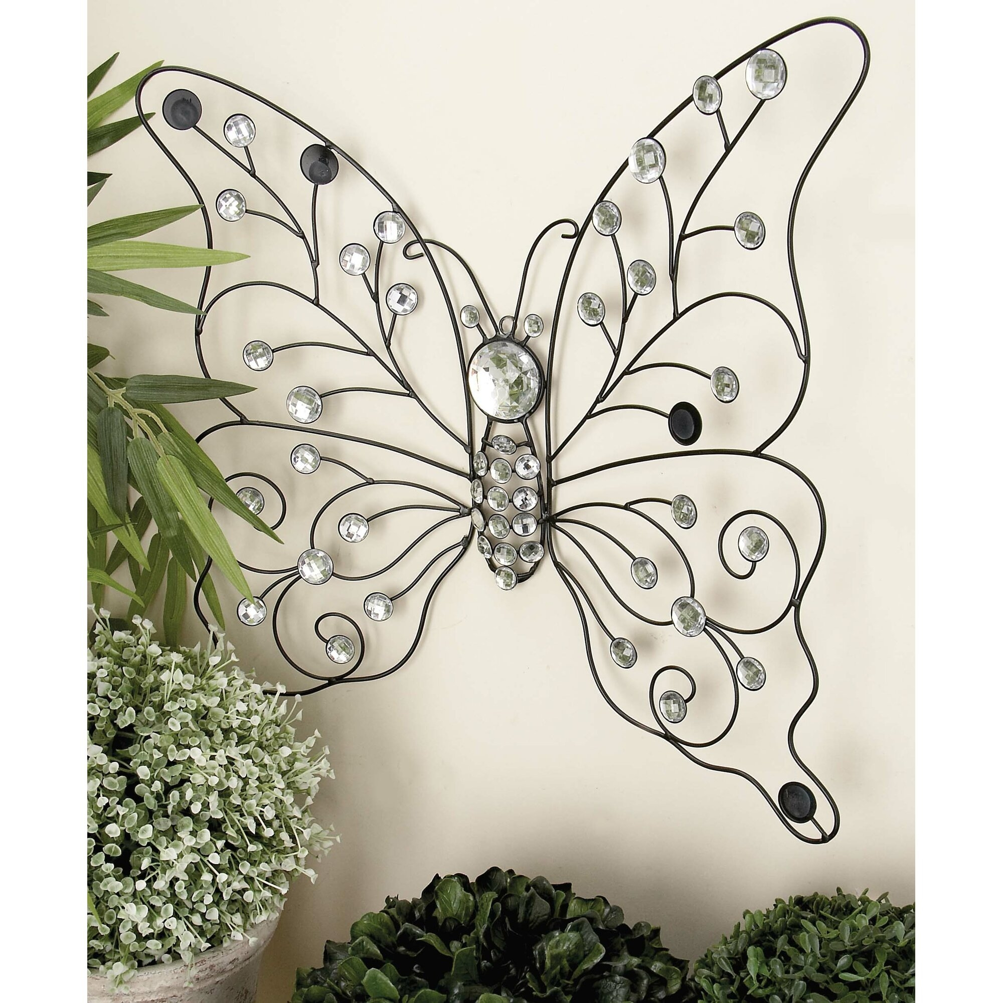 50 Metal Erfly Wall Decor You Ll