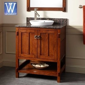 50 Mission Style Bathroom Vanity You