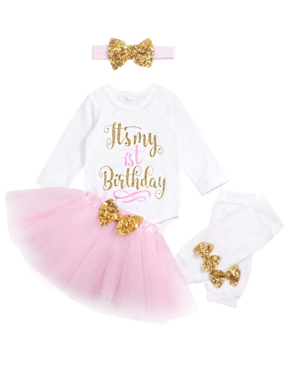 1st Birthday Girl Outfit Mint and Gold Personalized Baby Girl First Birthday Outfit Mint Tutu One Year Old Outfit Girl