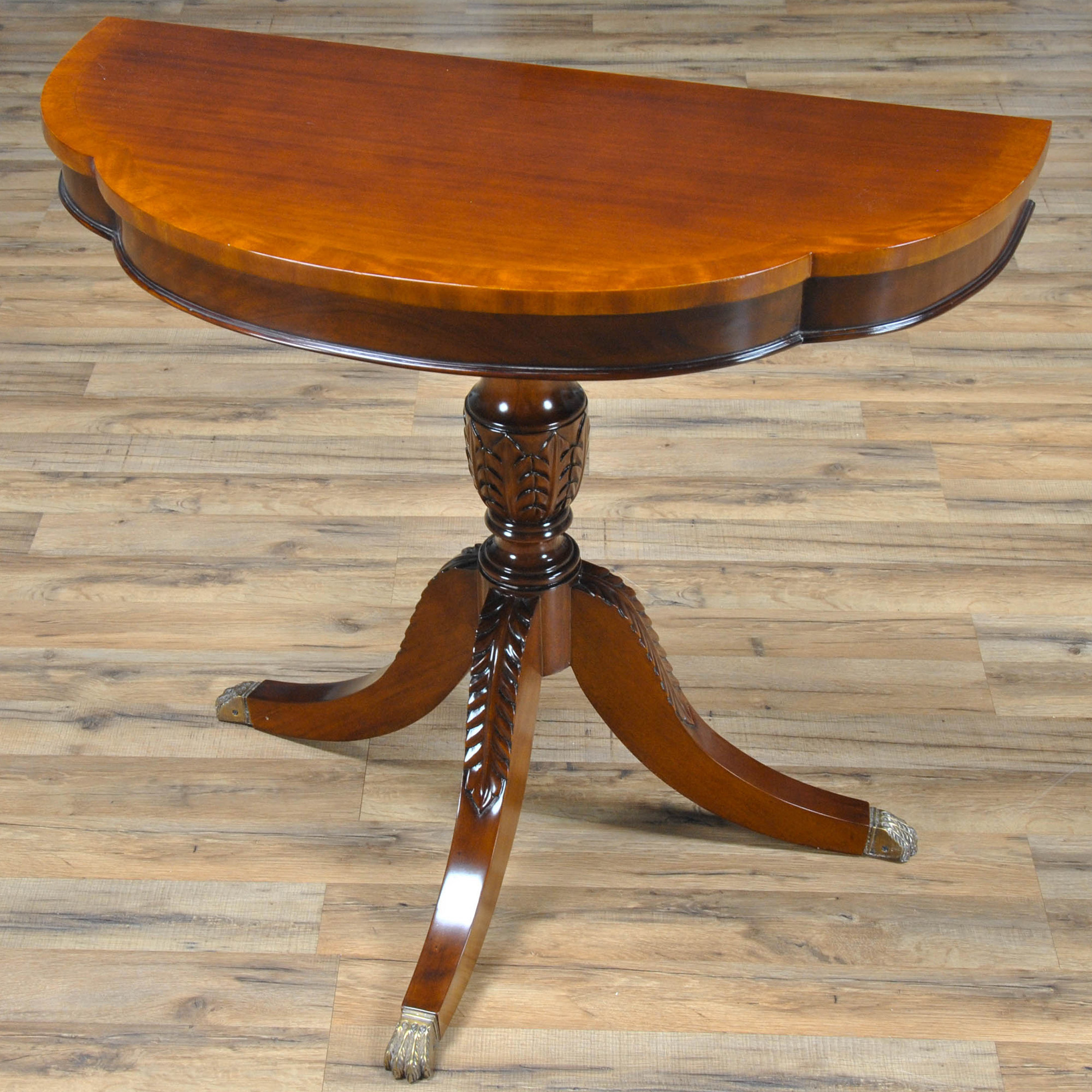 Duncan Phyfe Round Table With Drawer.Duncan Phyfe Round Table Visual Hunt