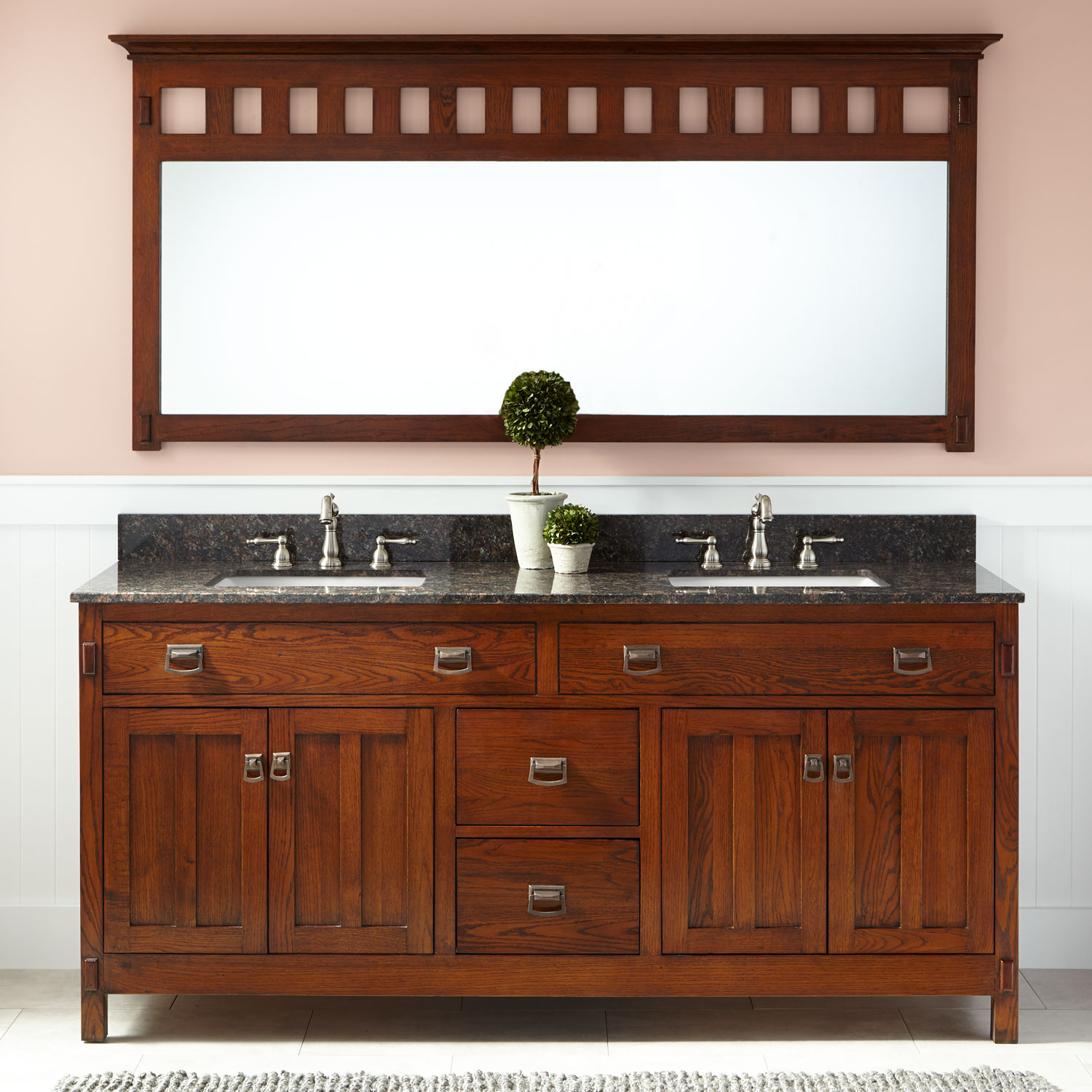 Mission Style Bathroom Vanity You Ll Love In 2021 Visualhunt