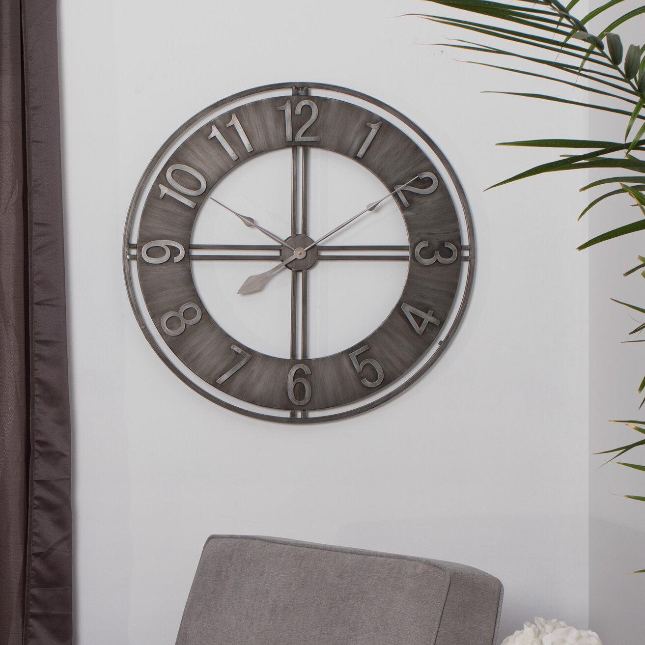 Oversized Decorative Wall Clocks You Ll Love In 2021 Visualhunt
