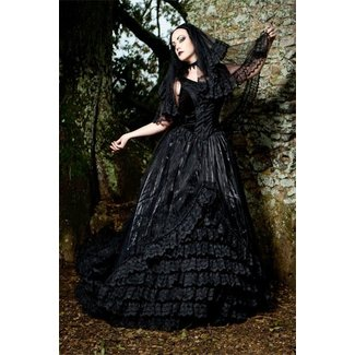 50 Gothic Wedding Dresses You Ll Love In 2020 Visual Hunt