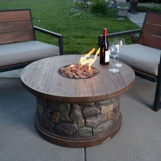 Brilliant 50 Propane Fire Pit Coffee Table Youll Love In 2020 Unemploymentrelief Wooden Chair Designs For Living Room Unemploymentrelieforg