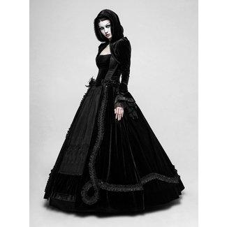 ab4cd116fff7 Q-339 Lady Amaranth - long Gothic wedding dress by .