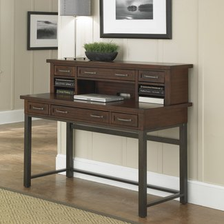 Rockvale Writing Desk with Hutch