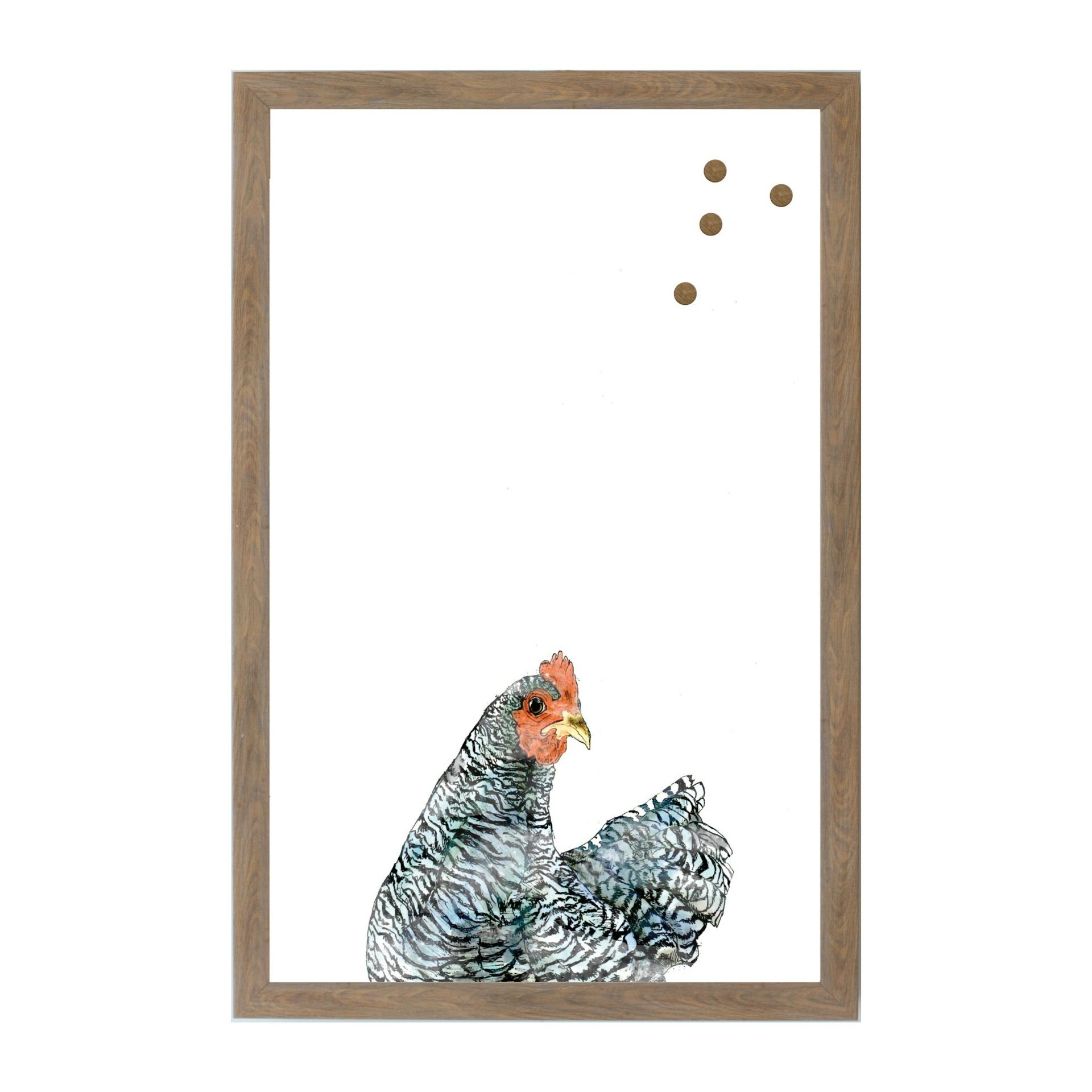 Rooster Wall Mounted Magnetic Board