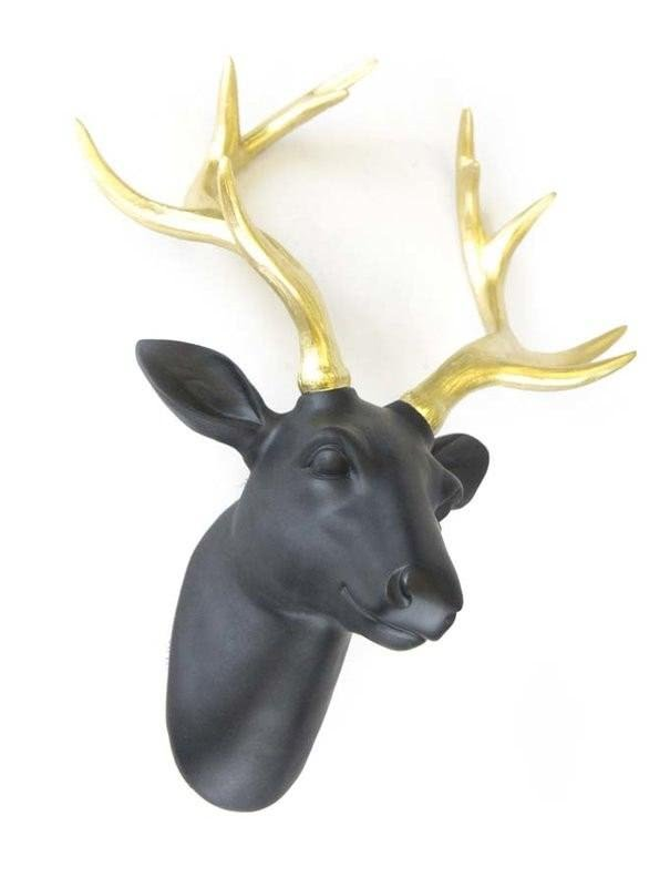 Sagebrook Deer Head Wall Décor