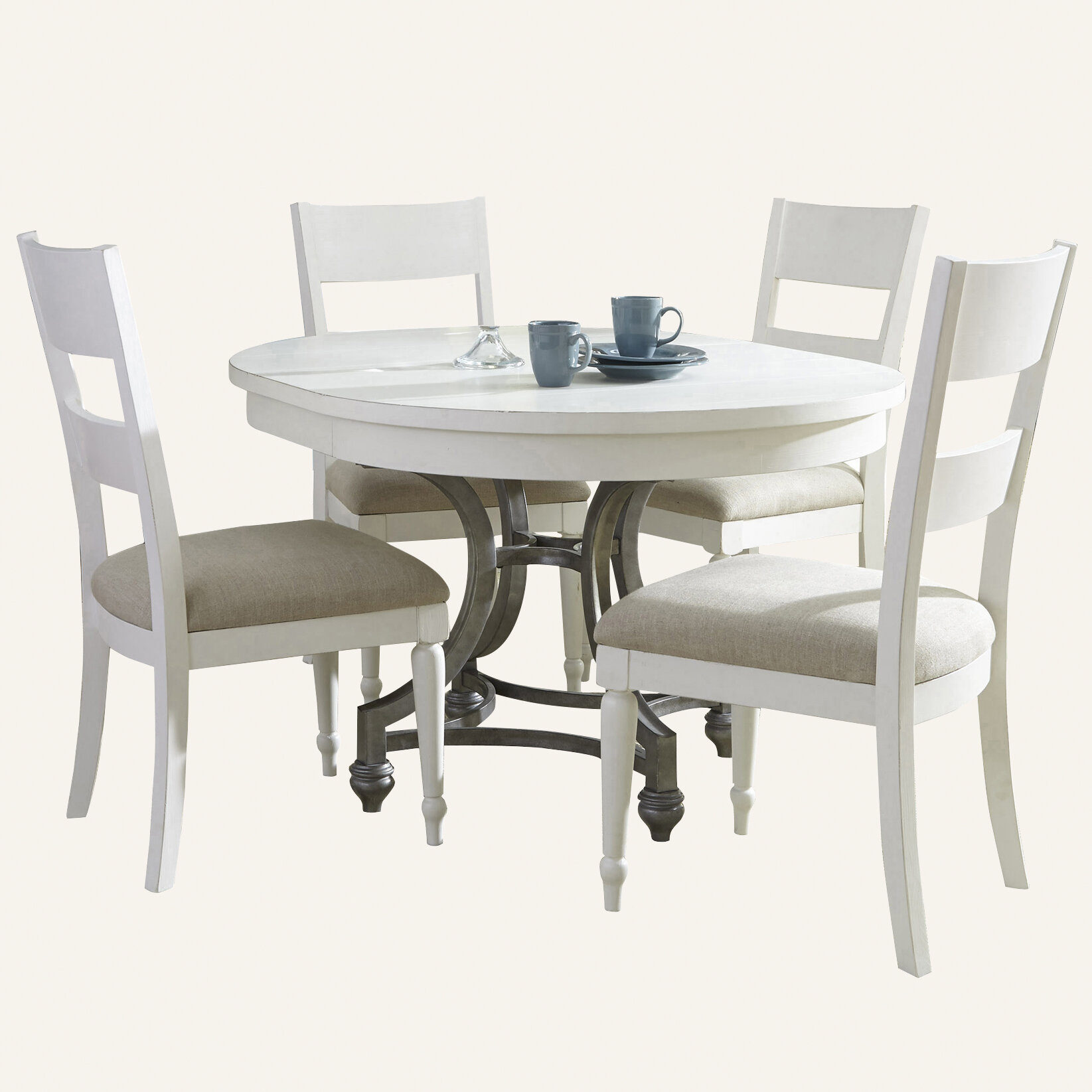 White Dining Table Set Visualhunt, White Dining Room Sets