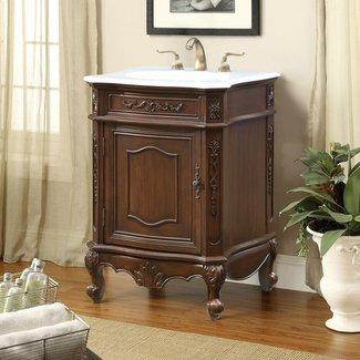 """Schubert 24"""" Single Bathroom Vanity Set"""
