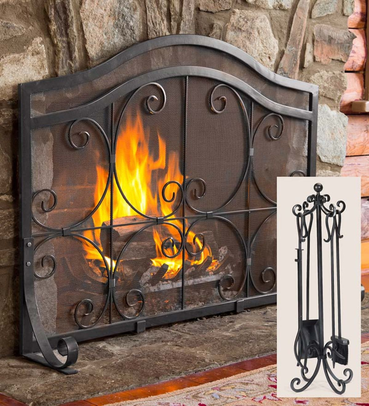 Decorative Fireplace Covers You Ll Love In 2021 Visualhunt