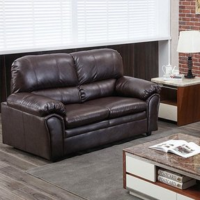 Tremendous 50 Leather Loveseat Sleepers Youll Love In 2020 Visual Hunt Ibusinesslaw Wood Chair Design Ideas Ibusinesslaworg