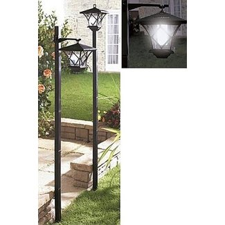 "Solon Outdoor 1-Light 61"" Post Light"
