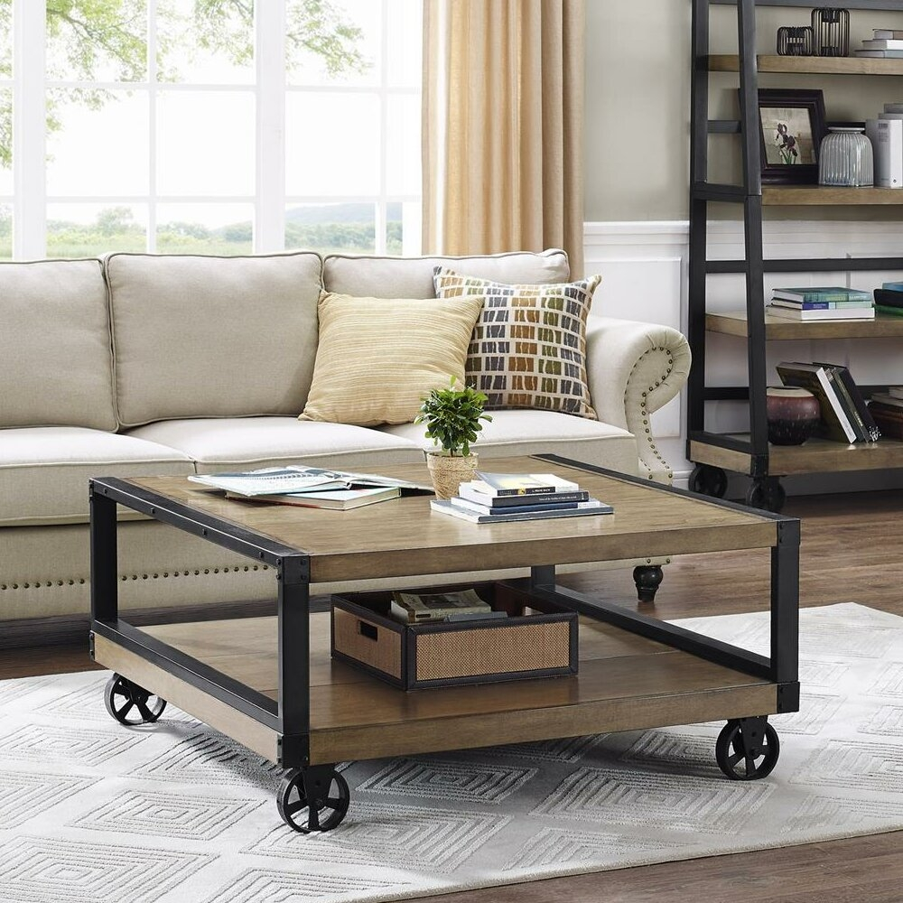Coffee Table With Wheels You Ll Love In 2021 Visualhunt