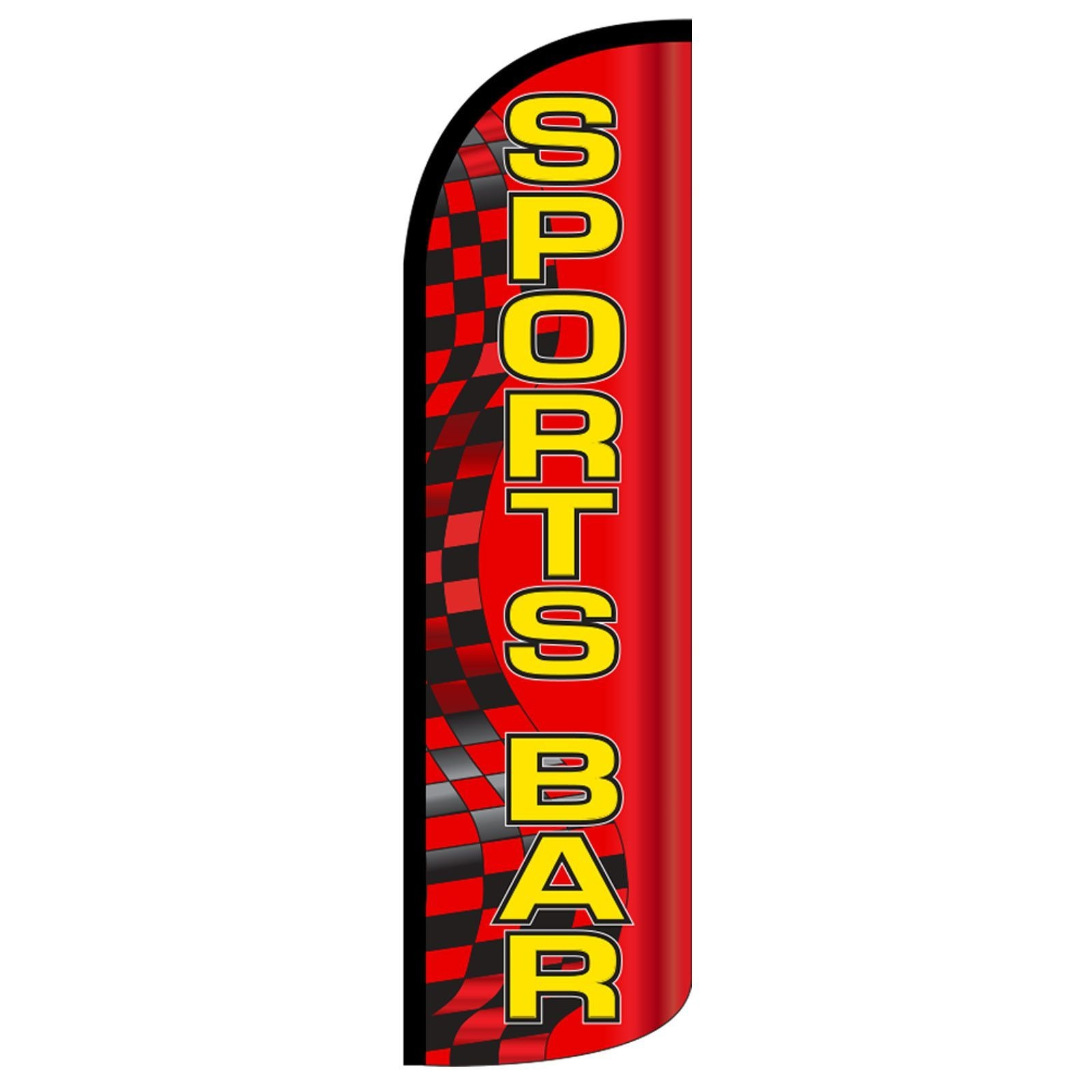 Sports Bar Deluxe Swooper Flag