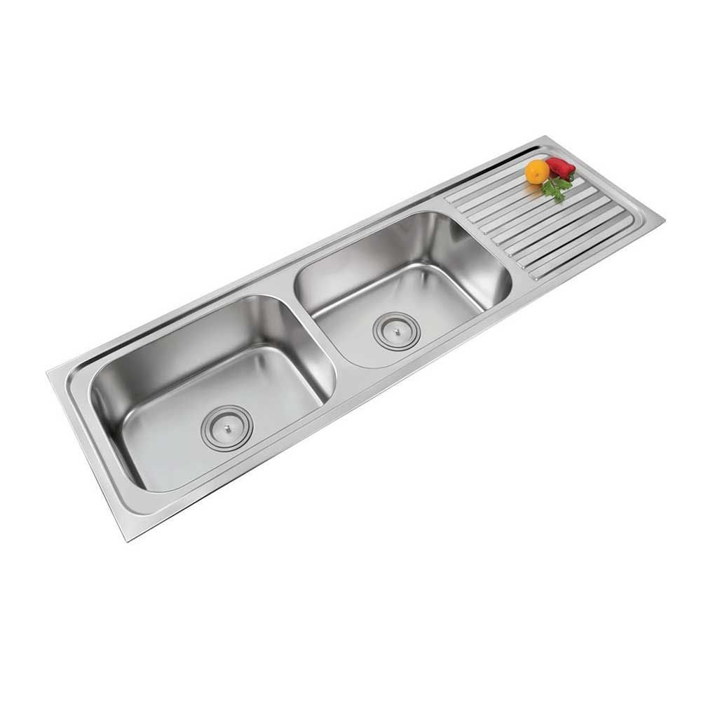 Stainless Steel Sink With Drainboard You Ll Love In 2021 Visualhunt