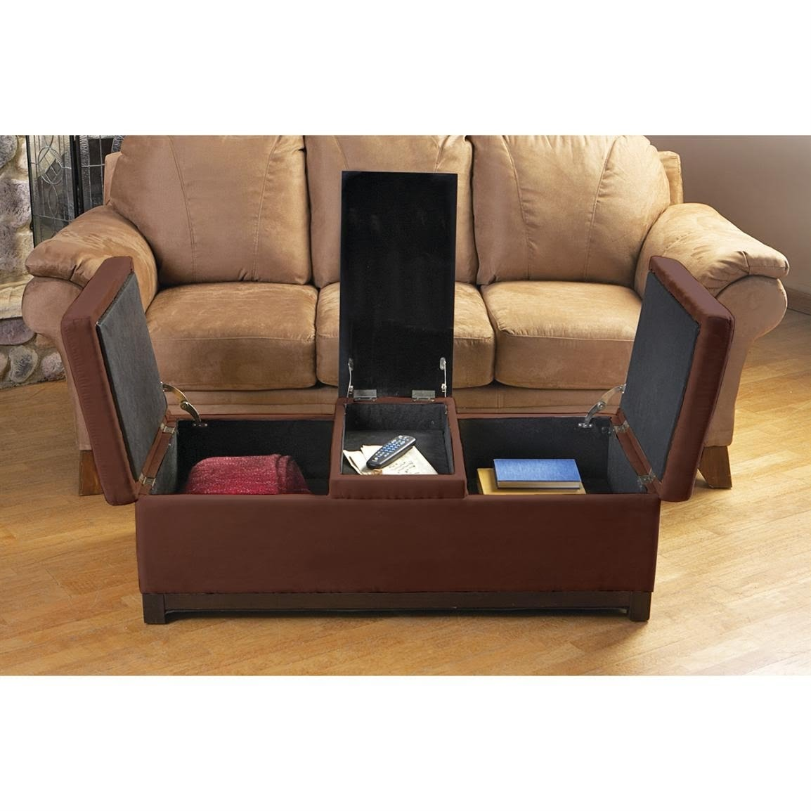 Picture of: Storage Ottoman Coffee Table You Ll Love In 2020 Visualhunt