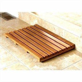 50 Teak Wood Bath Mat You Ll Love In