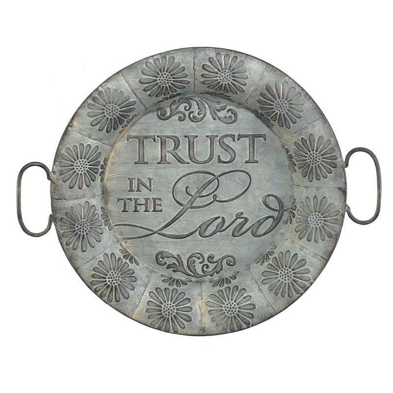 Tin Plate Wall Décor