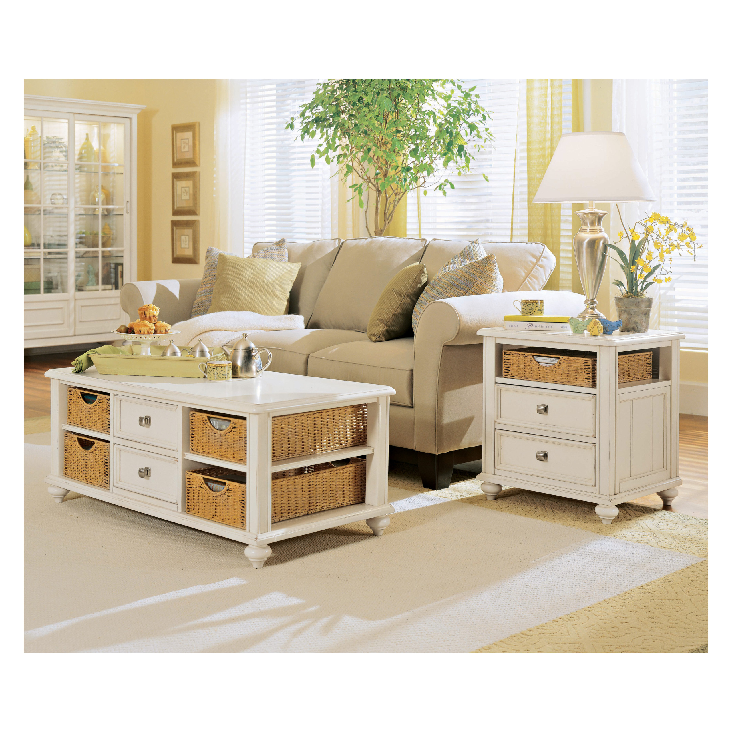 Coffee Table With Storage Baskets You Ll Love In 2021 Visualhunt