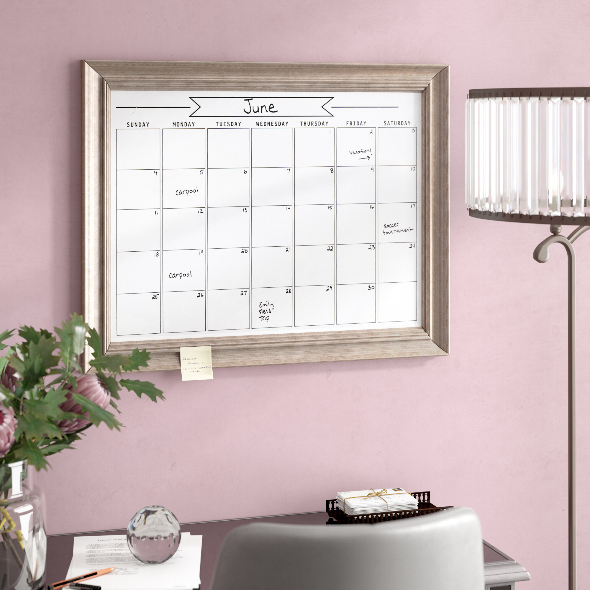 Decorative Dry Erase Board Visual Hunt