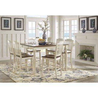 Whiteland 7 Piece Extendable Dining Set