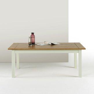 Zinus Farmhouse Wood Coffee Table