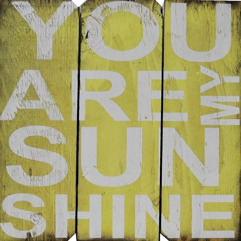 "Zipcode ""You are My Sunshine"" Wall Décor"
