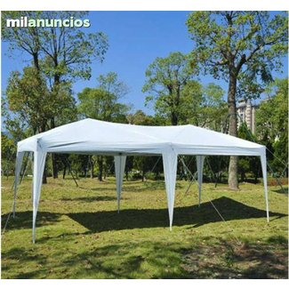 10 Ft. W x 20 Ft. D Steel Pop-Up Party Tent