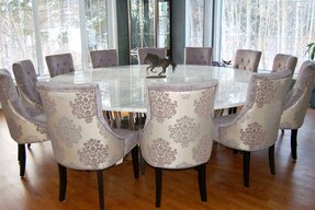 12 Person Dining Table Visualhunt, Dining Room Table Seats 12
