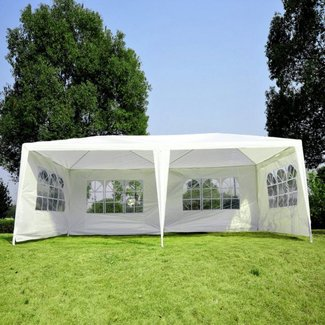 20 Ft. W x 10 Ft. D Steel Party Tent