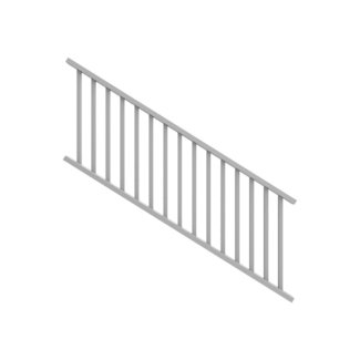 3 ft. H x 8ft. W Stair Railing