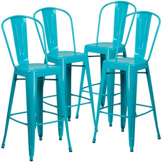 Stupendous 50 30 Inch Bar Stools Youll Love In 2020 Visual Hunt Unemploymentrelief Wooden Chair Designs For Living Room Unemploymentrelieforg
