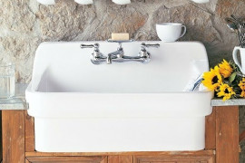 Top Mount Farmhouse Sink