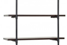 Industrial Pipe Shelving Kit