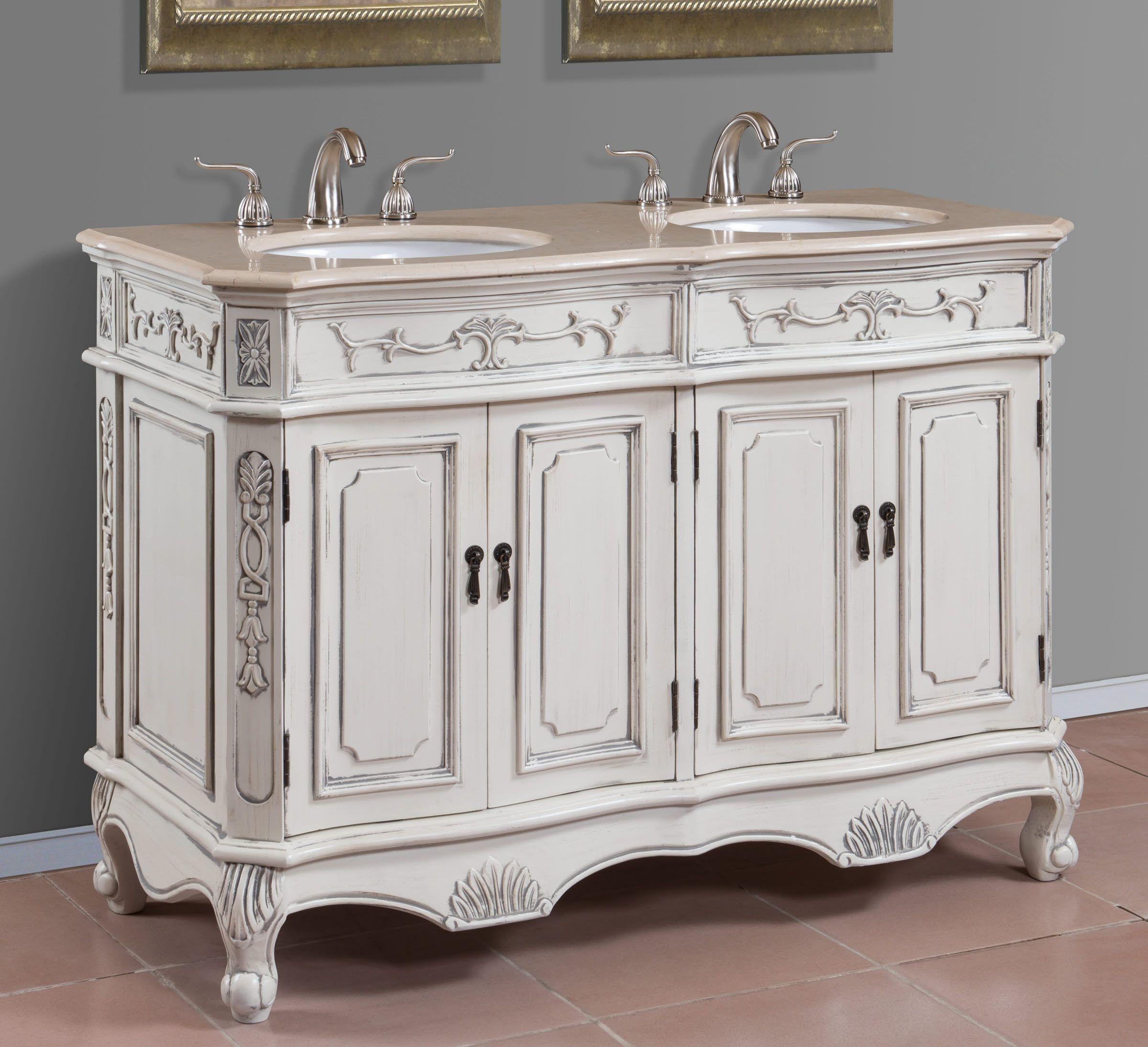 48 Inch Double Sink Vanity You Ll Love, 48 Bathroom Vanity Double Sink