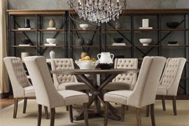 60 Inch Round Dining Table Set