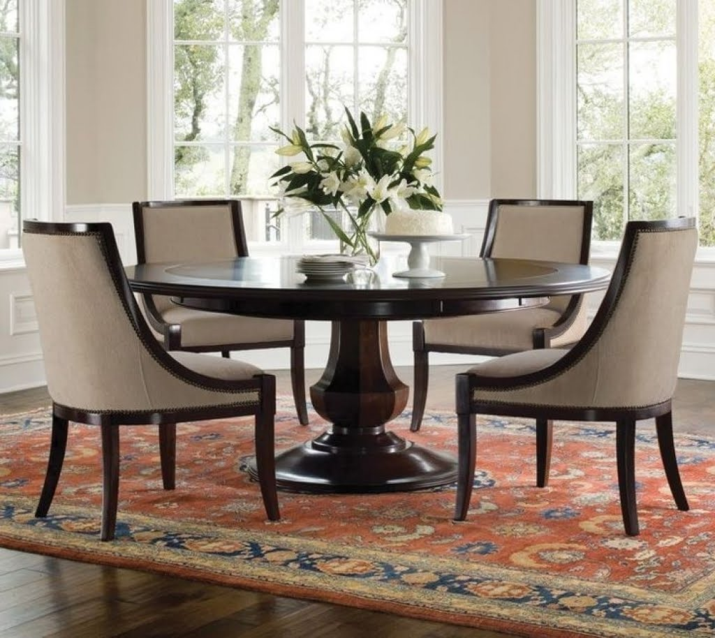 60 Inch Round Dining Table Set You Ll Love In 2021 Visualhunt