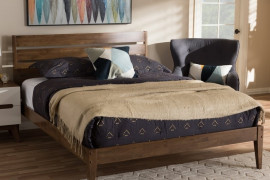Solid Platform Bed No Slats