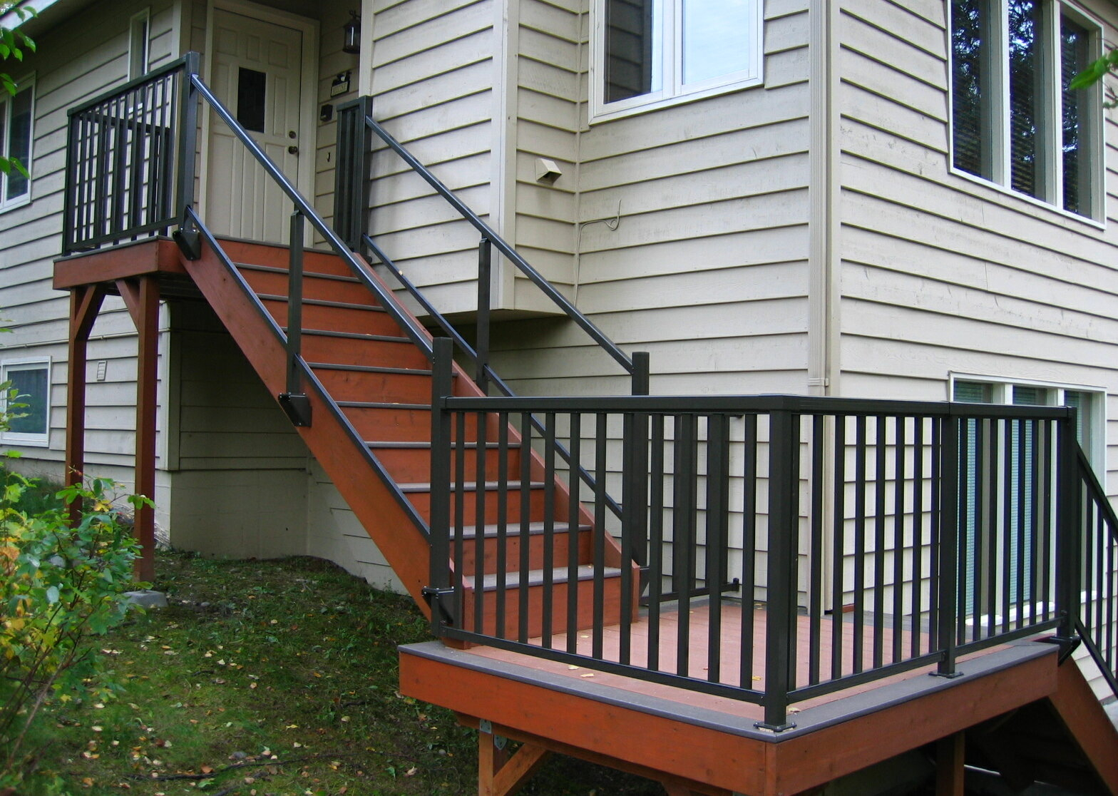 50 Outdoor Metal Stair Railing Kits You Ll Love In 2020 Visual Hunt
