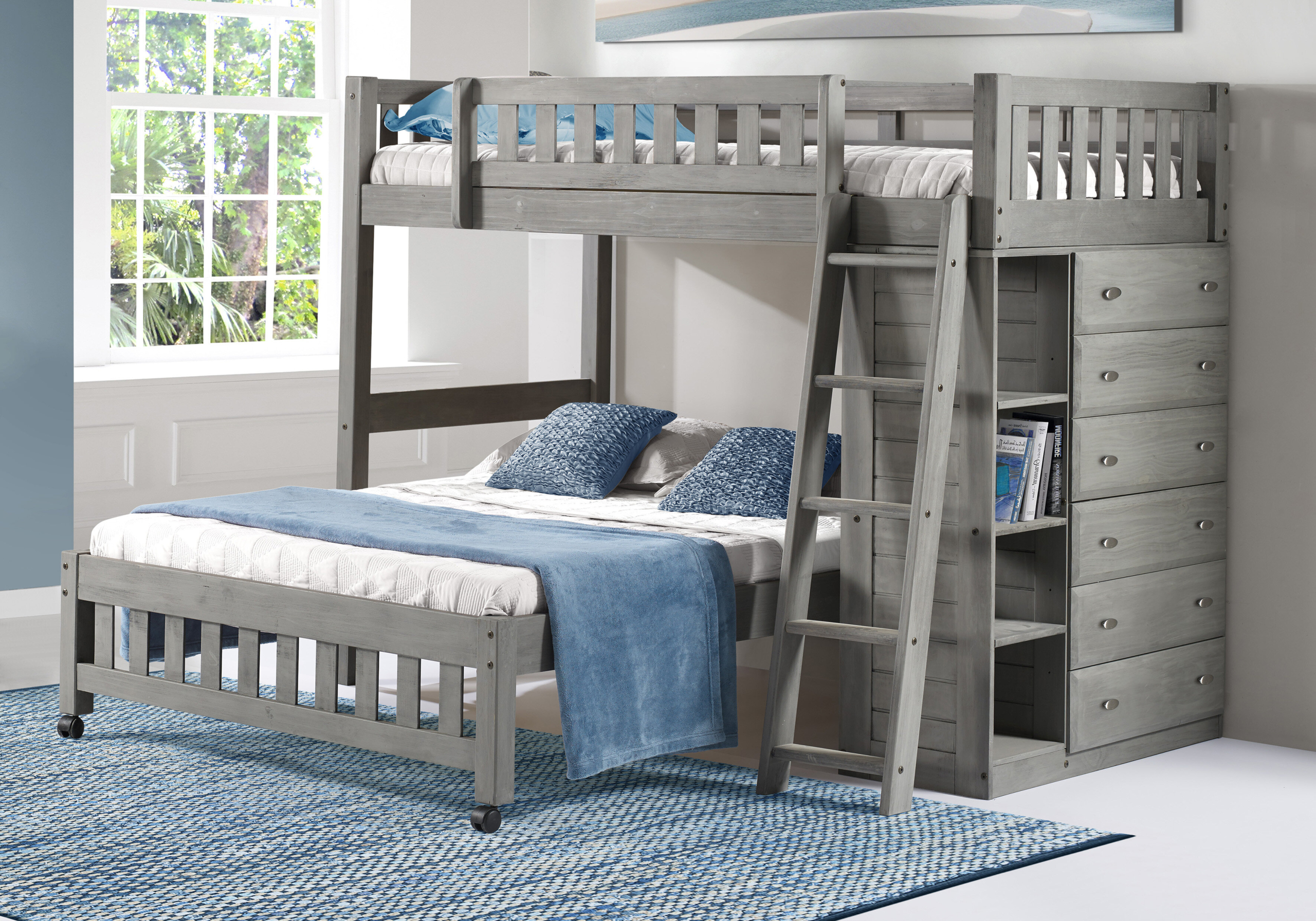 Picture of: Bunk Beds With Dressers You Ll Love In 2020 Visualhunt