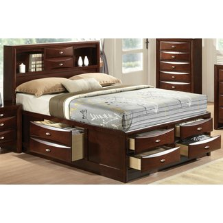 Archer Storage Platform Bed