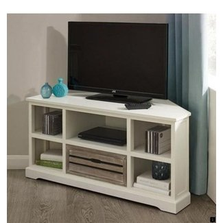 50 White Corner Tv Stand You Ll Love In 2020 Visual Hunt