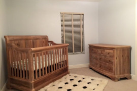 Crib And Dresser Set
