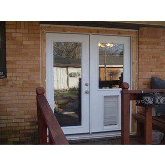 Outdoor Vent Covers >> 50+ Exterior Door with Built In Pet Door You'll Love in ...