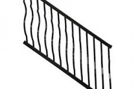 Outdoor Metal Stair Railing Kits