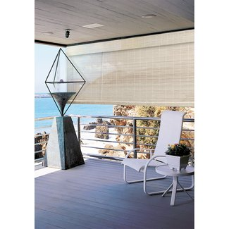 Bamboo Outdoor Roller Shade Blinds 8x6 Indoor Light Filtering Window Roll UP New