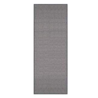 Barnhart Non Skid Rubber Backed Gray Area Rug